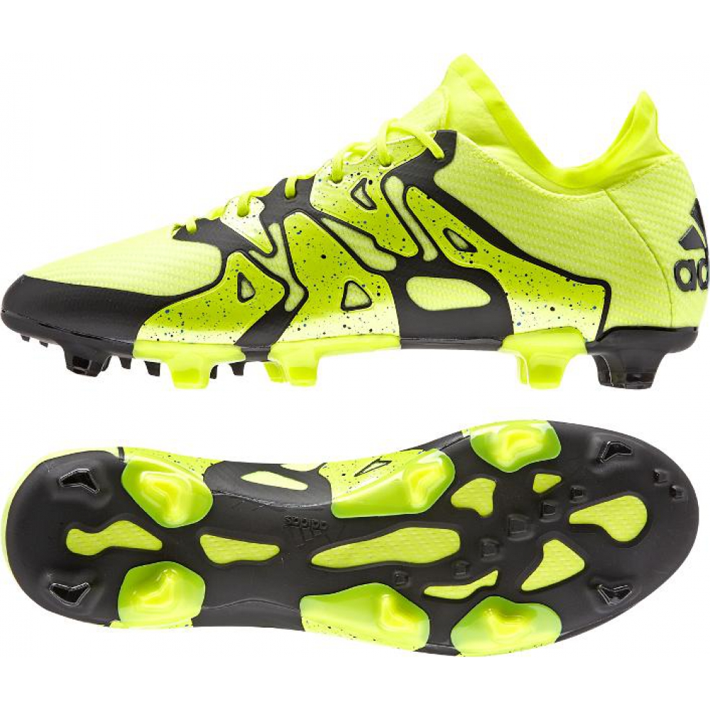 adidas-X151-FG-AG-Fussballschuh-schwarz-gelb-B32782-Top-Schuh-Fussballschuh-neu-Nocke-Multinocke-Soccer-shoes-Mix